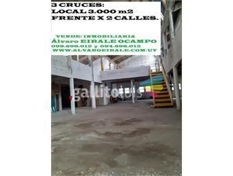 https://www.gallito.com.uy/3-cruces-local-3000-m2-frente-x-2-calles-inmuebles-15900573